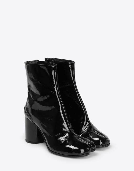 MAISON MARGIELA Patent Tabi boots Ankle boots [*** pickupInStoreShipping_info ***] r