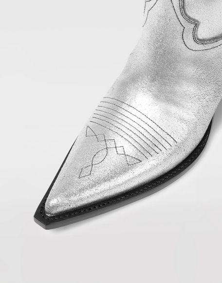 MAISON MARGIELA High silver cowboy boots Boots Woman a