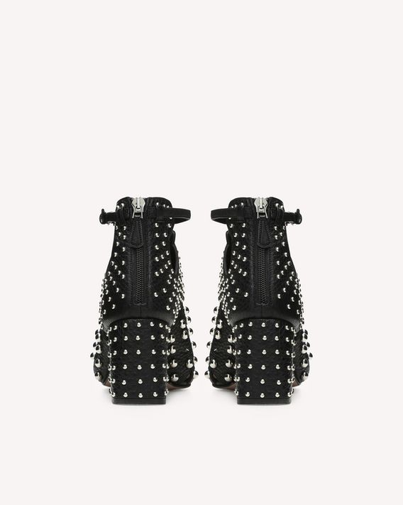 REDValentino METAL DOT ANKLE BOOT