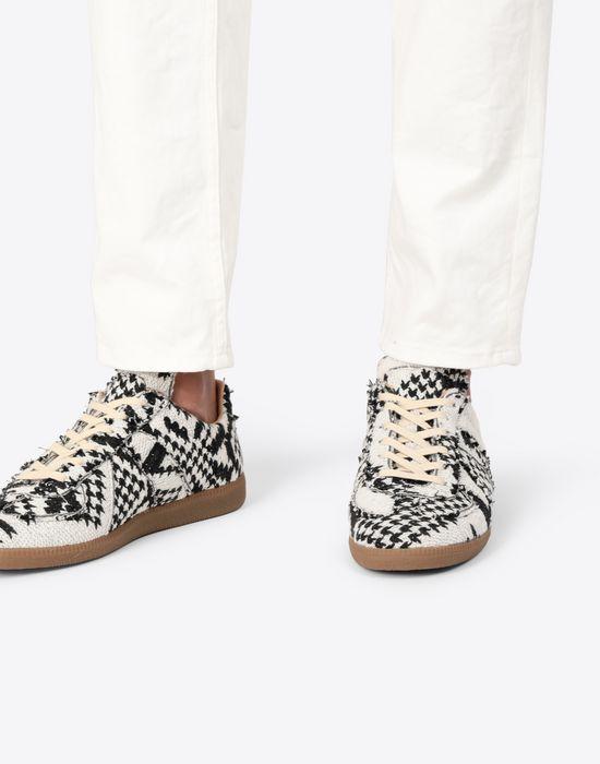 MAISON MARGIELA Printed low-top 'Replica' sneakers Sneakers [*** pickupInStoreShippingNotGuaranteed_info ***] b