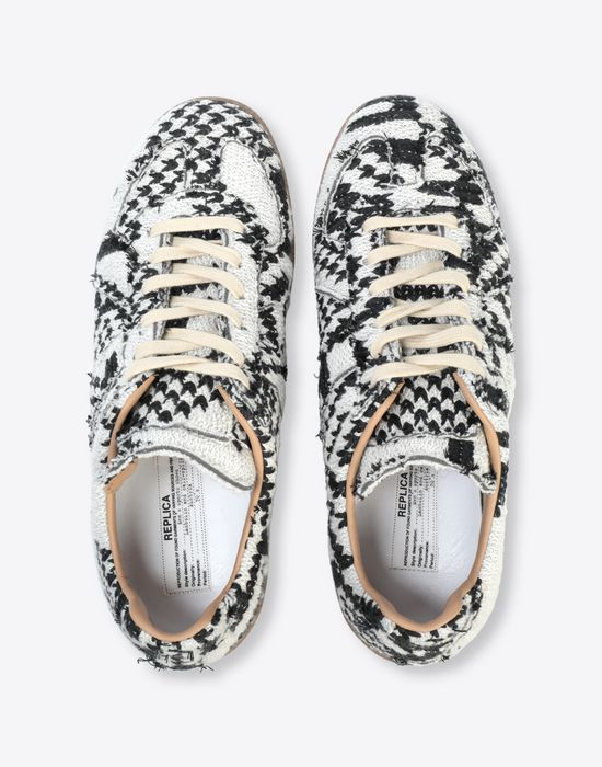 MAISON MARGIELA Printed low-top 'Replica' sneakers Sneakers [*** pickupInStoreShippingNotGuaranteed_info ***] d
