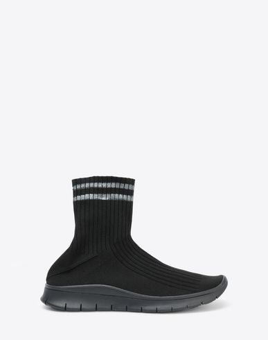 MAISON MARGIELA Sneakers Man High-top knit sock sneaker f