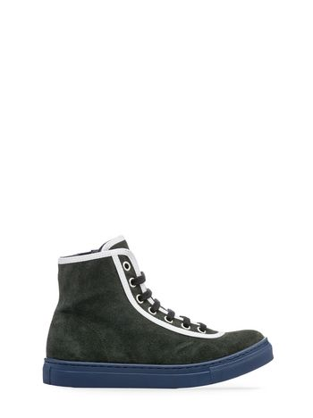 Marni lace-up high-top trainer Man