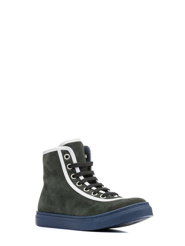 Marni lace-up high-top sneaker Man - 2