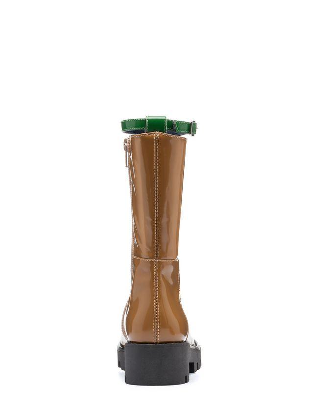 Marni brushed calfskin boot Woman