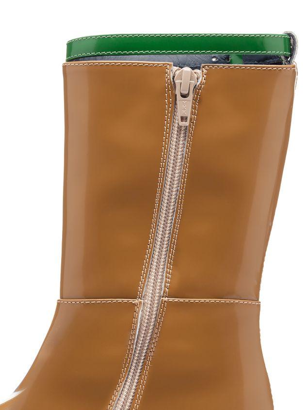 Marni brushed calfskin boot Woman - 4