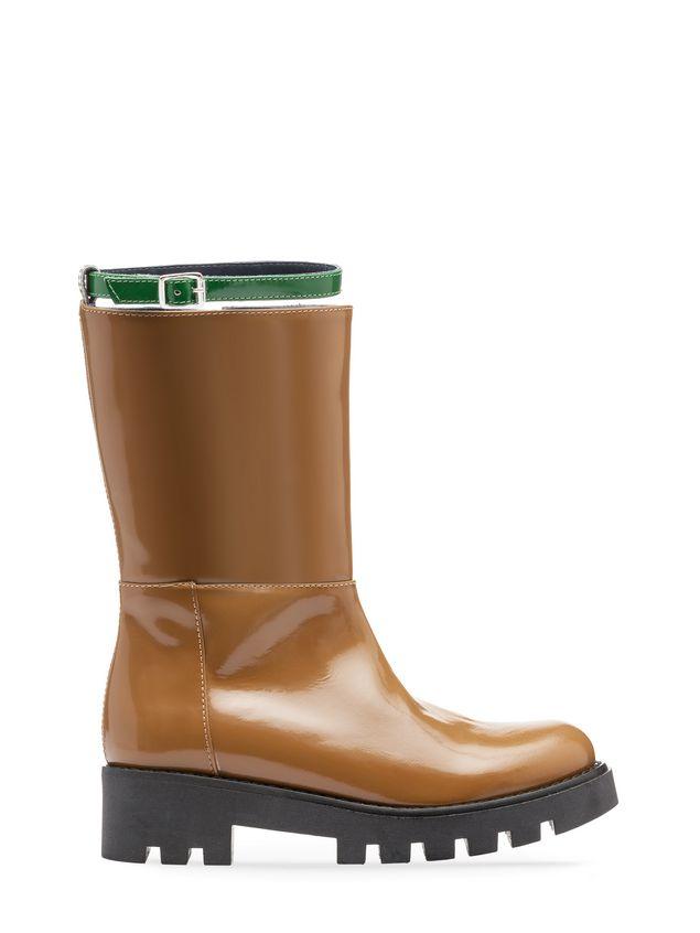Marni brushed calfskin boot Woman - 1