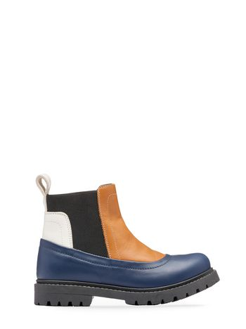 Marni ankle boot with elasticated leg straps Man