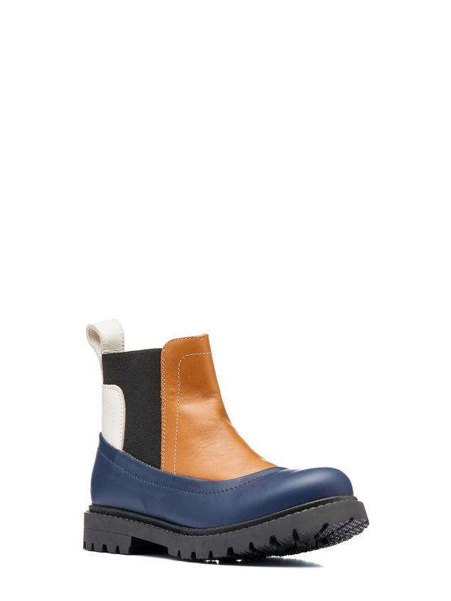 Marni ankle boot with elasticized leg straps Man - 2