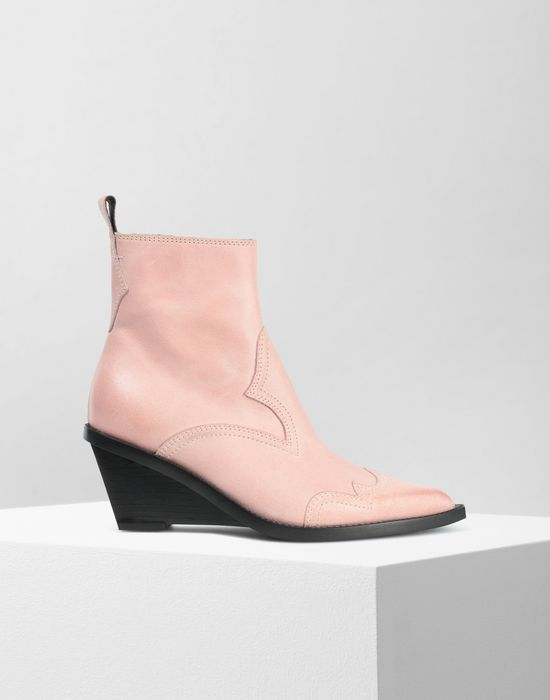MM6 MAISON MARGIELA Wedge Santiag boots Ankle boots [*** pickupInStoreShipping_info ***] f