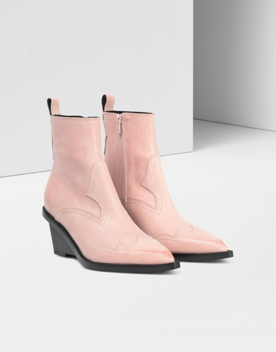 MM6 MAISON MARGIELA Wedge Santiag boots Ankle boots [*** pickupInStoreShipping_info ***] r