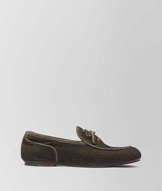 BV TRINITY LOAFER AUS VELOURSLEDER IN POIVRE