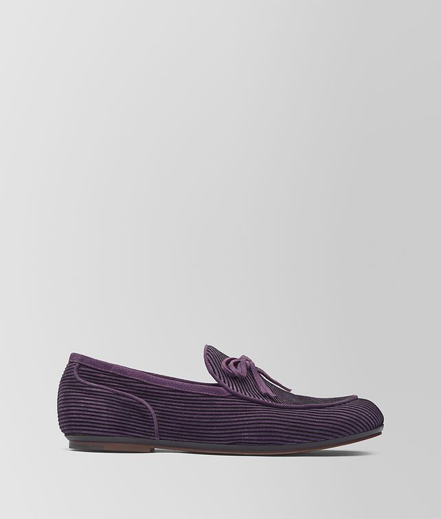 BOTTEGA VENETA GRAPE SUEDE BV TRINITY LOAFER  Mocassin or Slipper [*** pickupInStoreShippingNotGuaranteed_info ***] fp