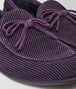 grape suede bv trinity loafer  Front Detail Portrait