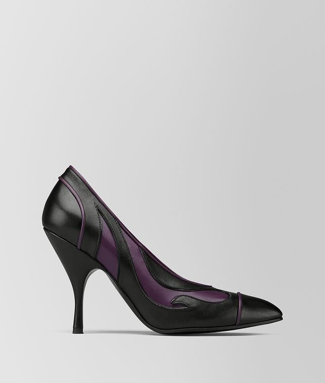 BOTTEGA VENETA GRAPE/NERO KID MOODEC FLAME PUMP Pump [*** pickupInStoreShipping_info ***] fp
