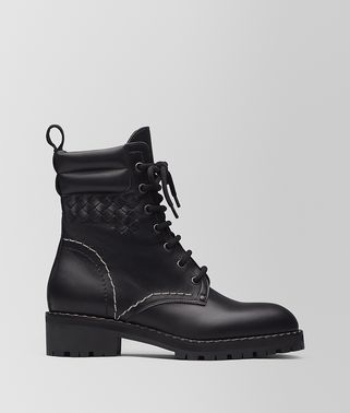 NERO TUSCANY CALF ELDFELL CHAIN BOOT