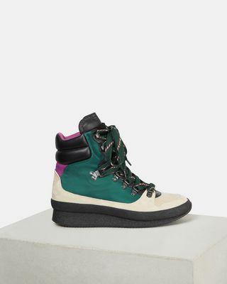 ISABEL MARANT BASKETS Femme Boots BRENDTA d