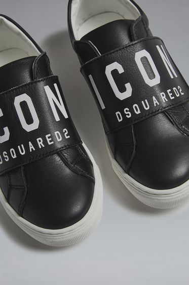 DSQUARED2 Icon Slip On Sneakers Sneaker Herren