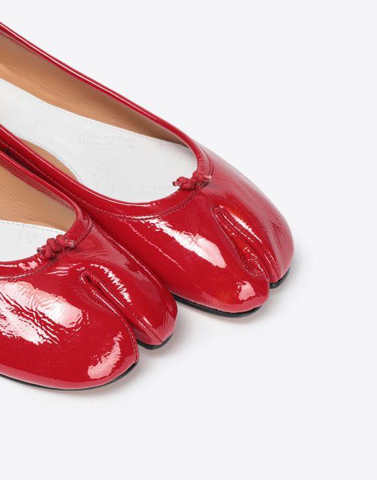 MAISON MARGIELA Patent Tabi ballet flats Tabi ballet flats [*** pickupInStoreShipping_info ***] e