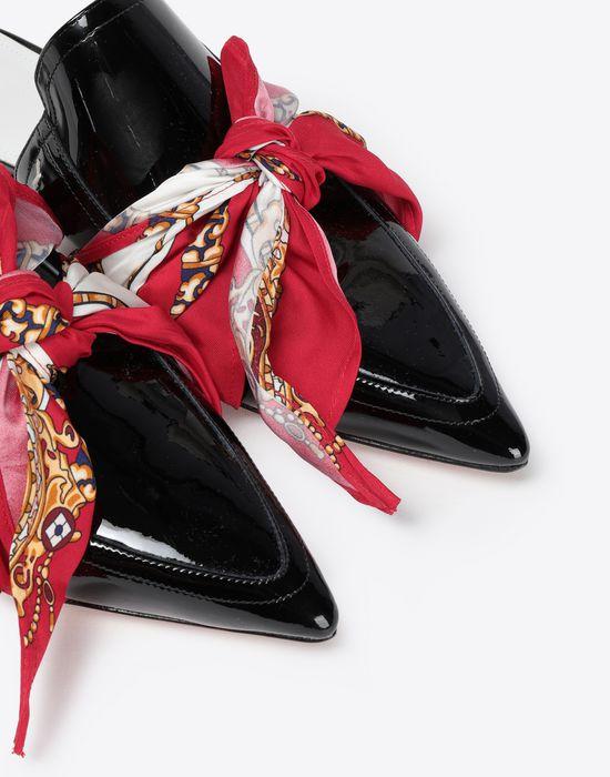 MAISON MARGIELA Slip ons with scarf Mules [*** pickupInStoreShipping_info ***] e