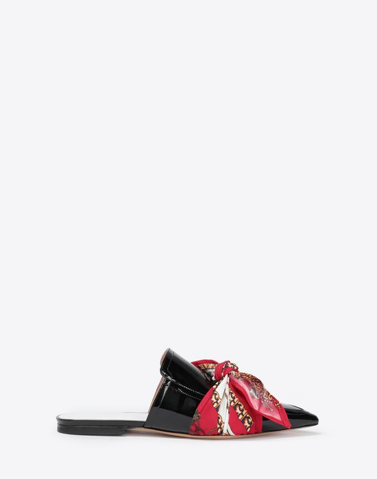 MAISON MARGIELA Slip ons with scarf Mules [*** pickupInStoreShipping_info ***] f
