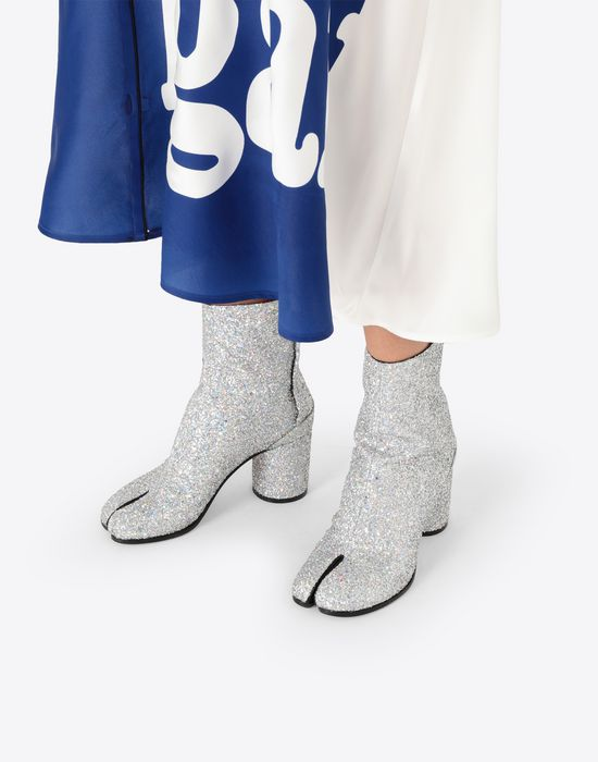 MAISON MARGIELA Glitter Tabi boots Tabi boots [*** pickupInStoreShipping_info ***] b