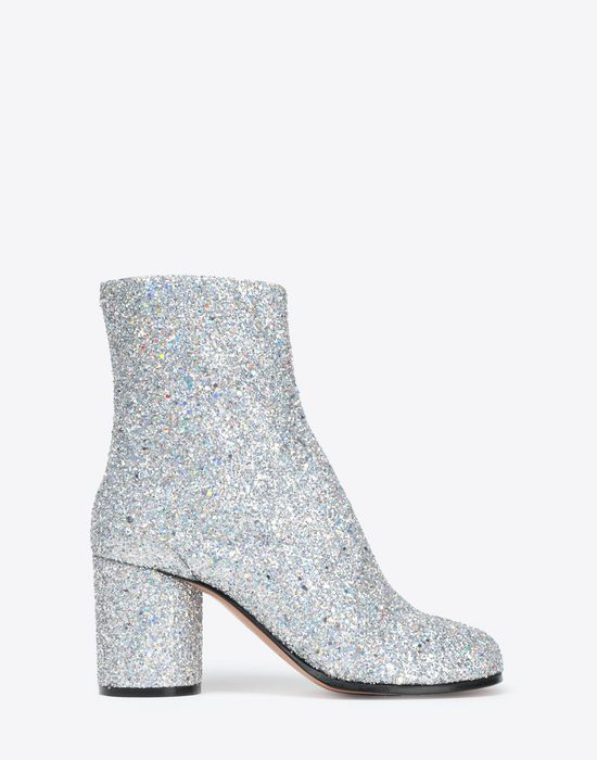 MAISON MARGIELA Glitter Tabi boots Tabi boots [*** pickupInStoreShipping_info ***] f