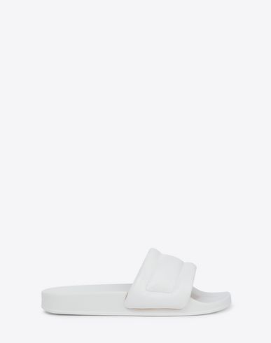 MAISON MARGIELA Sandals Man Future slider embossed slip-on f
