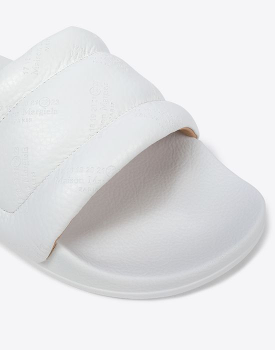 MAISON MARGIELA Future slider embossed slip-on Sandals [*** pickupInStoreShippingNotGuaranteed_info ***] e