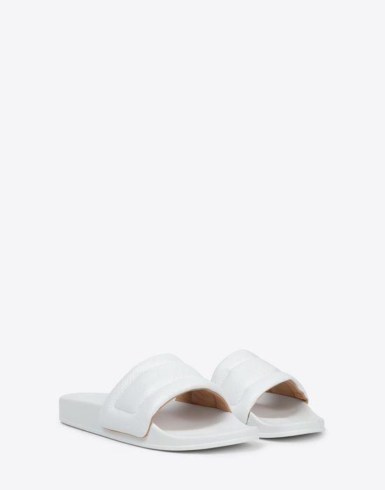 MAISON MARGIELA Future slider embossed slip-on Sandals [*** pickupInStoreShippingNotGuaranteed_info ***] r