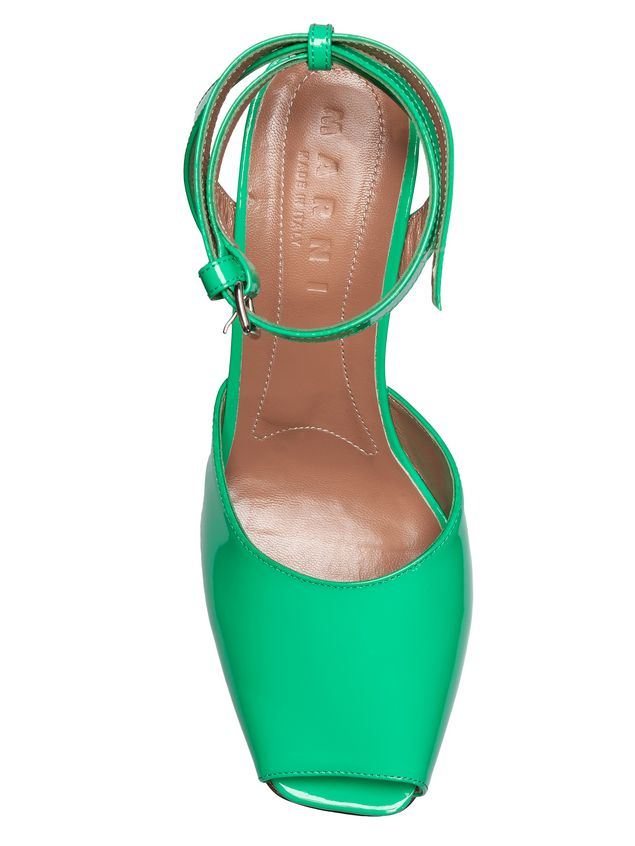 Marni Sandal in patent leather Woman - 4