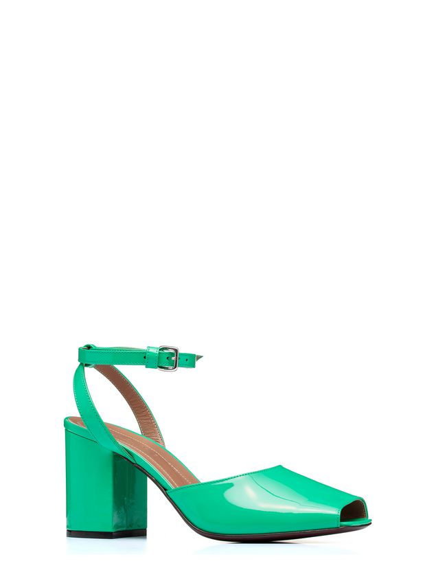 Marni Sandal in patent leather Woman - 2