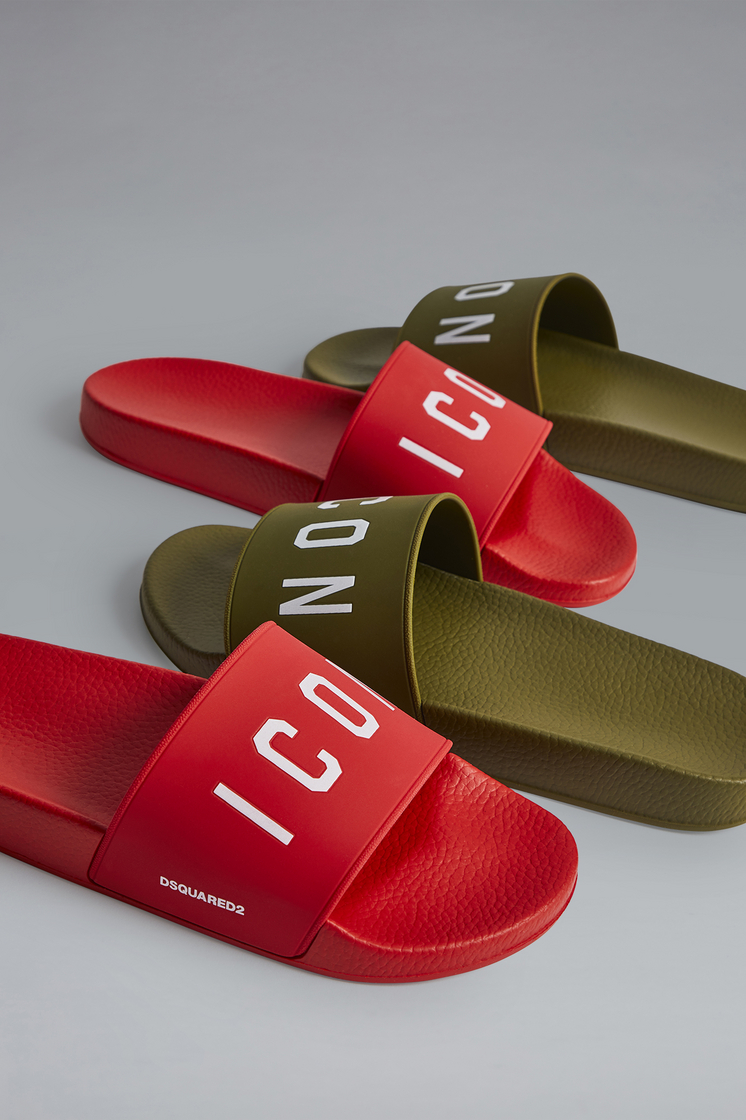 DSQUARED2 Icon Slides Flip flops Man