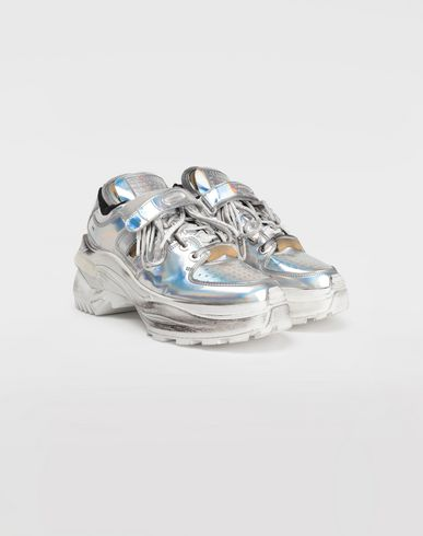 SHOES Low-top  'Retro Fit' sneakers Silver