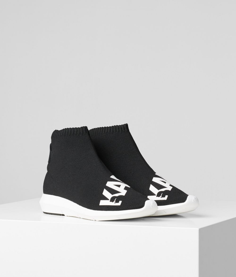 KARL LAGERFELD VITESSE LEGERE ANKLE BOOT Sneakers Woman f