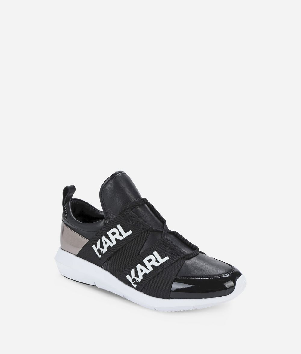 KARL LAGERFELD VITESSE LOGO RUNNER Sneakers Woman f