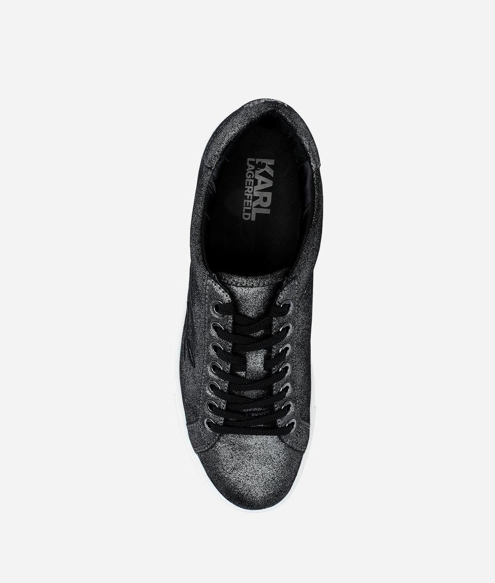 KARL LAGERFELD KUPSOLE SIGNATURE SNEAKER Sneakers Woman d