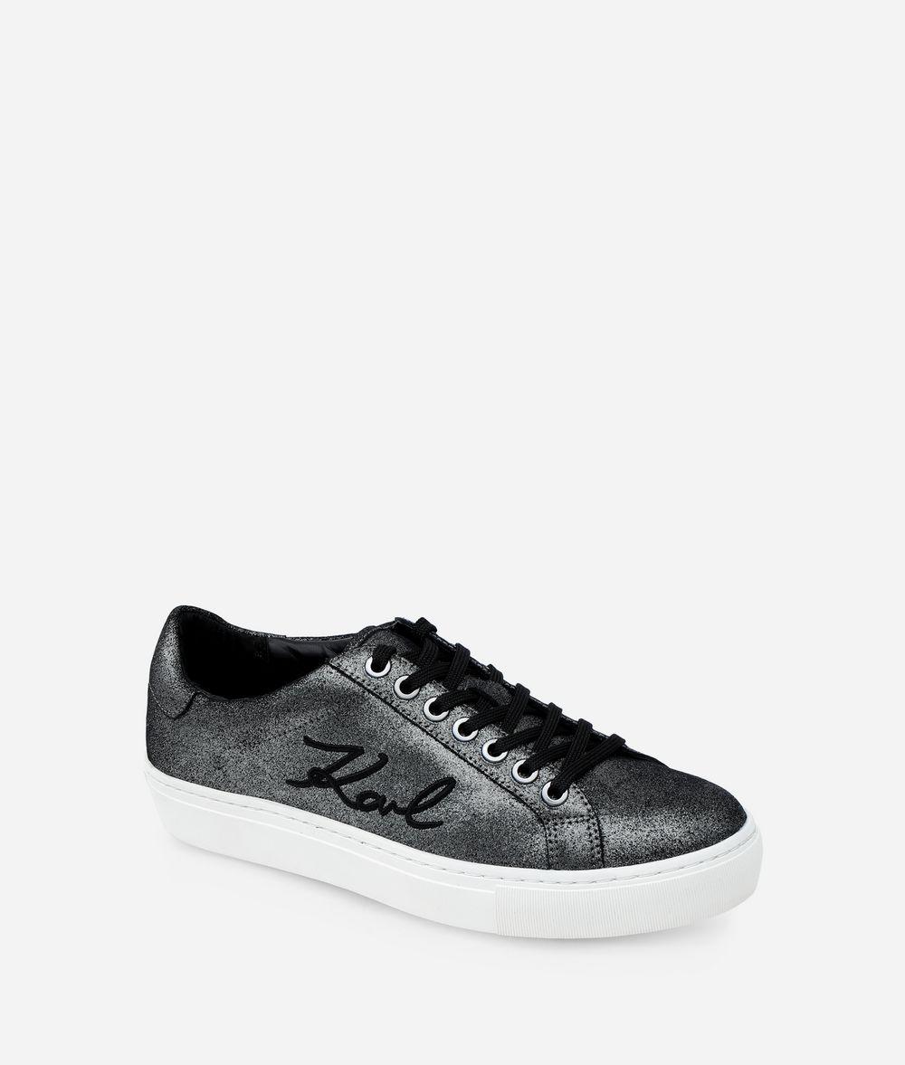 KARL LAGERFELD KUPSOLE SIGNATURE SNEAKER Sneakers Woman f