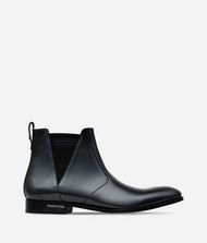 KARL LAGERFELD LEATHER ANKLE BOOT  9_f