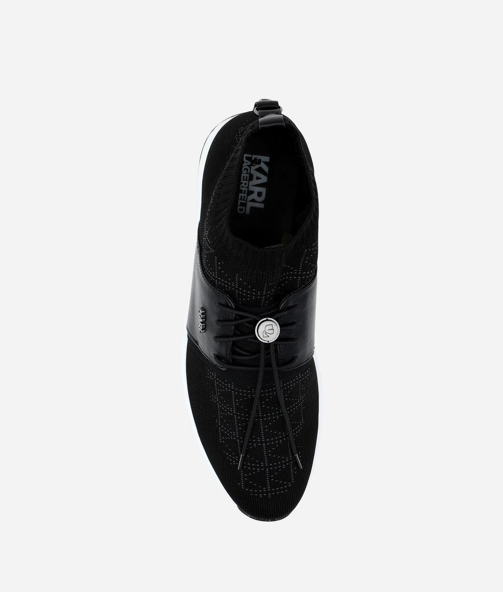 KARL LAGERFELD K/KNIT VEKTOR PULL-ON RUNNER Sneakers Man d