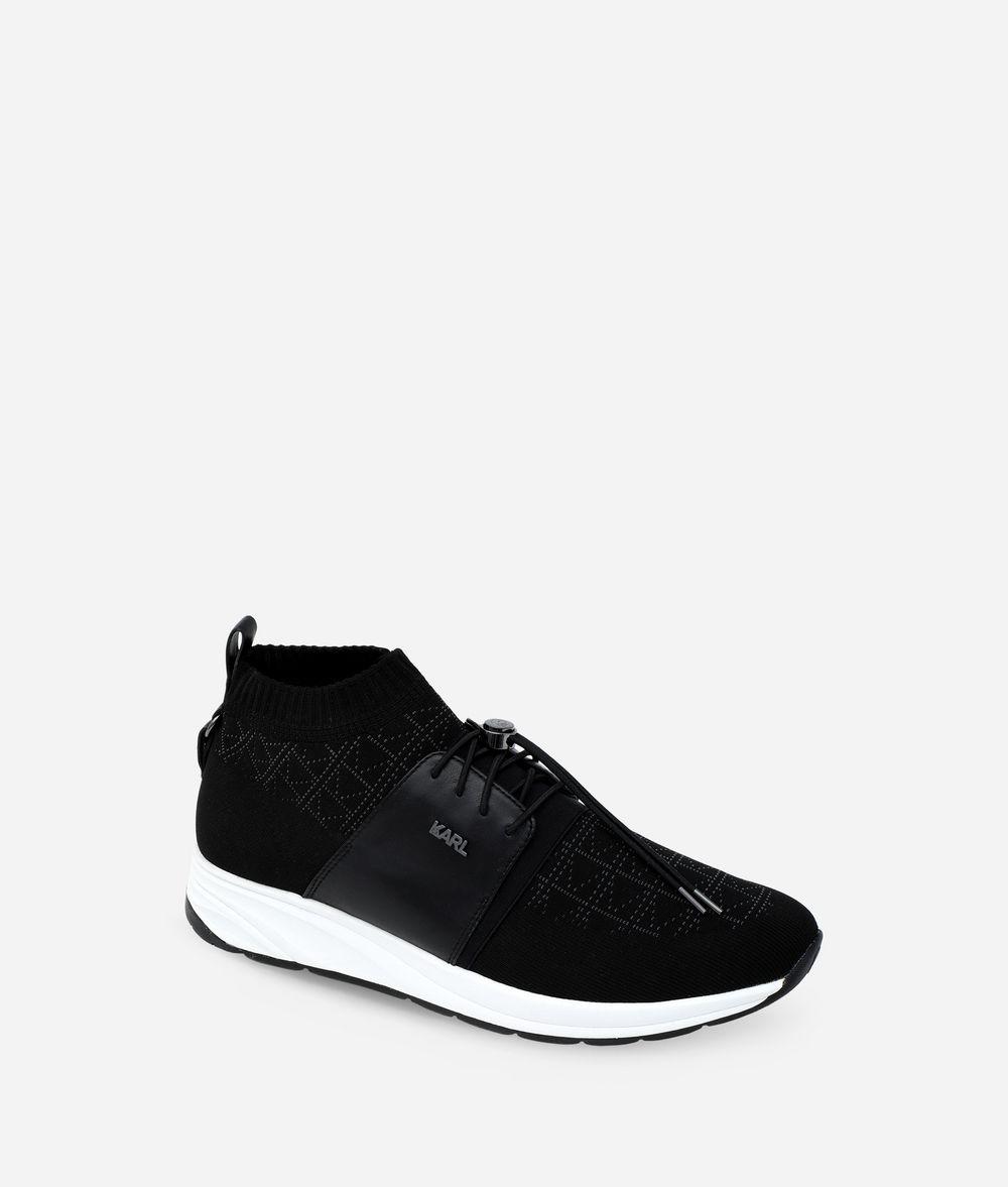 KARL LAGERFELD K/KNIT VEKTOR PULL-ON RUNNER Sneakers Man f