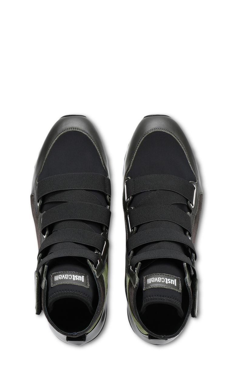 JUST CAVALLI High-top sneaker with rubber sole Sneakers Man d