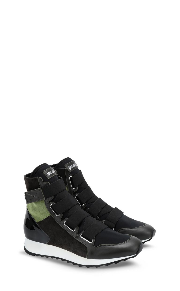 JUST CAVALLI High-top sneaker with rubber sole Sneakers Man r