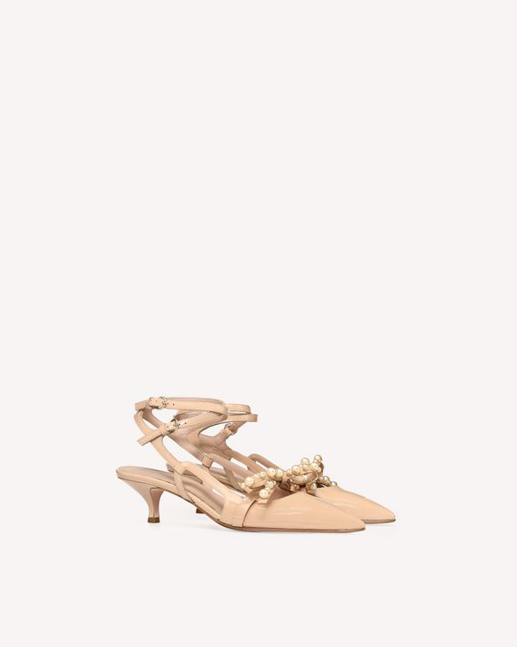 REDValentino GEOMETRIC BOW COURT