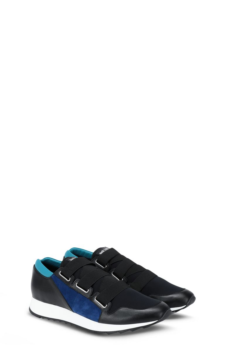 JUST CAVALLI Low-top sneaker with appliqués Sneakers Man r
