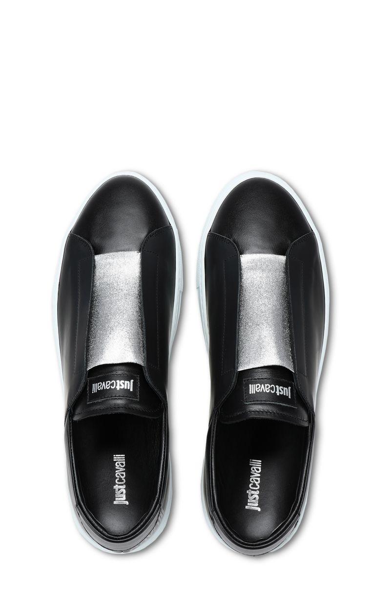 JUST CAVALLI Low-top sneaker with velvet details Sneakers Man d
