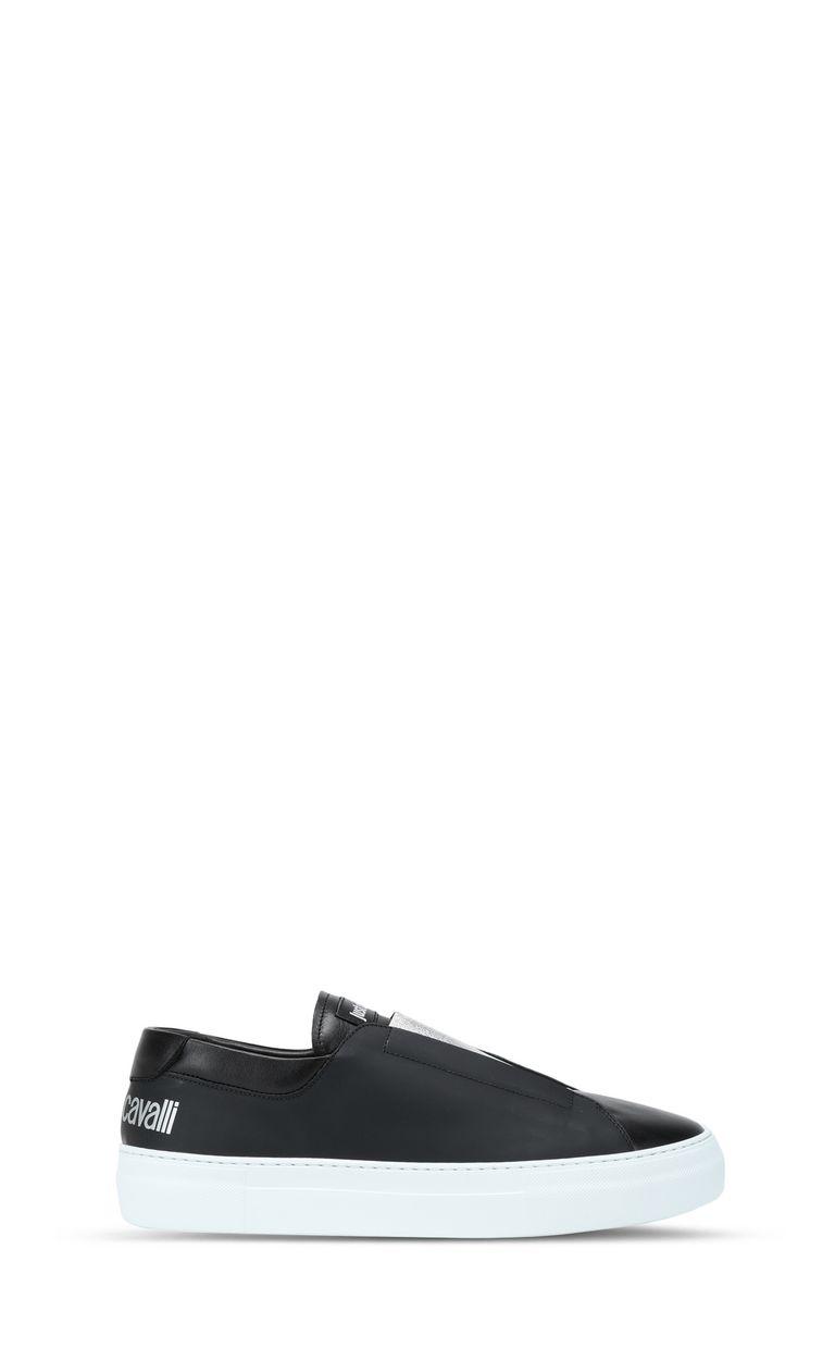 JUST CAVALLI Low-top sneaker with velvet details Sneakers Man f