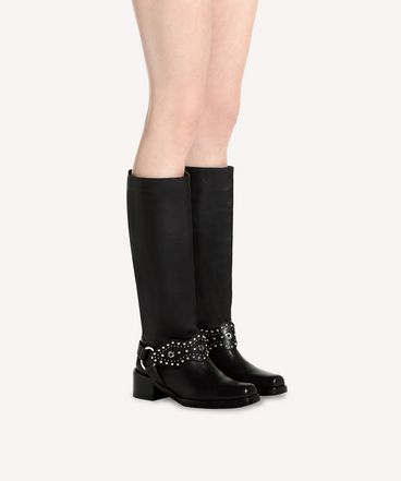 REDValentino QQ0S0B52SSM 0NO Boot Woman b