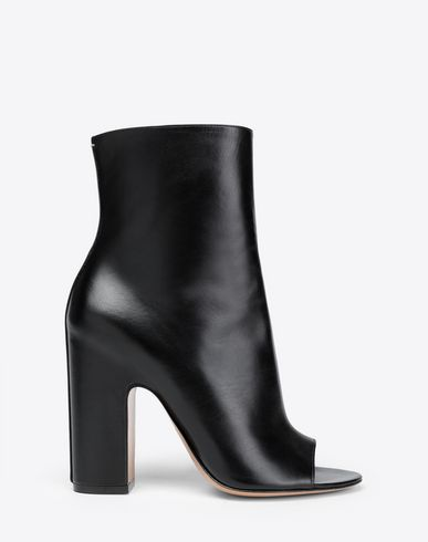 MAISON MARGIELA Ankle boots Woman Open-toe heels  f