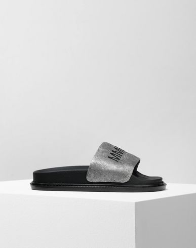 MM6 MAISON MARGIELA Sandals Woman Calfskin sandals f